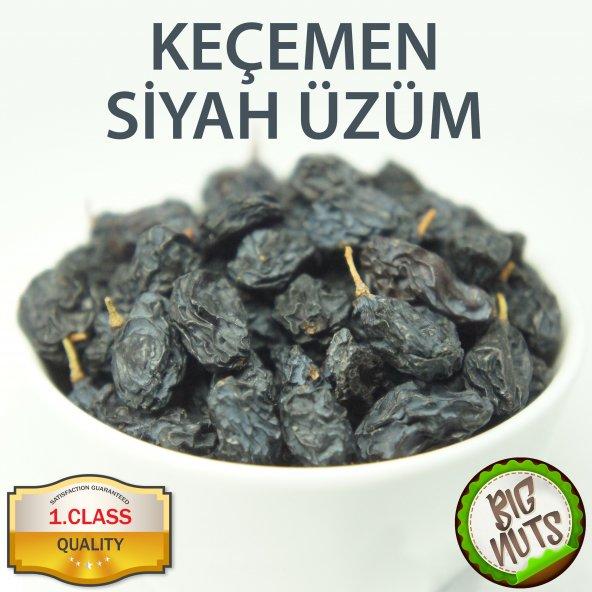 Keçemen Siyah Kuru Üzüm Keçimen Çekirdekli - 500 Gr 1 Kg 2 Kg Big Nuts