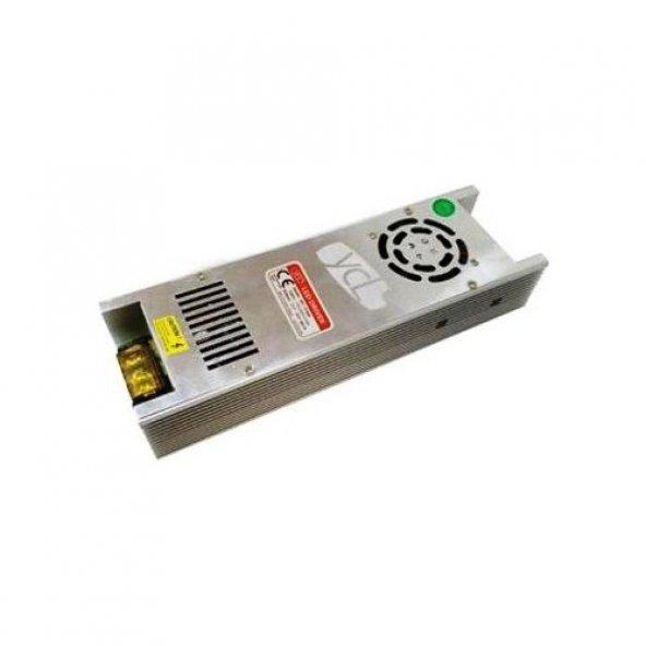 Ycl 12V 30A 350 Watt Slim Led Trafo Kamera Adaptör