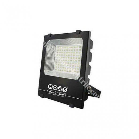 Noas 50 Watt Led Projektör (4500 Lümen) Slim Kasa Beyaz Renk Çeşidi