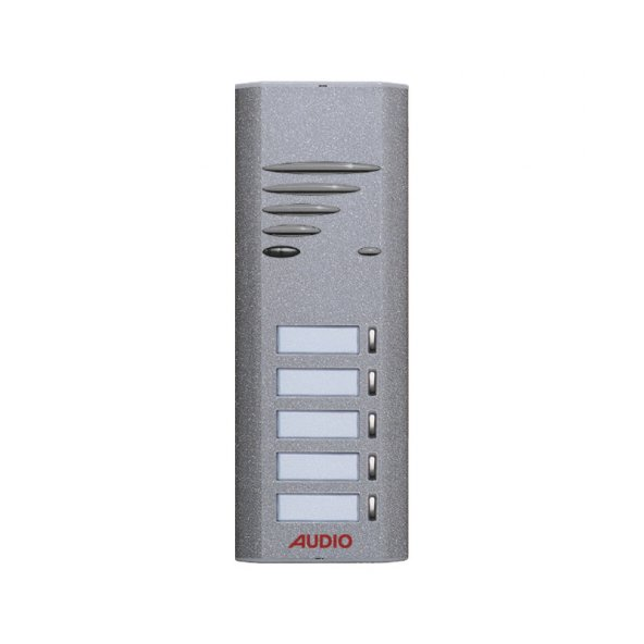 Audio Tek Butonlu Zil Panel 5li FT 004962-5