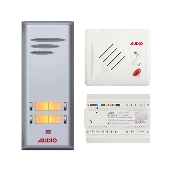 Audio Basic Serisi 3 Dairelik Kapıcısız Diafon Sistemi