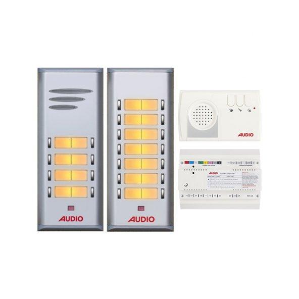 Audio Basic Serisi 21 Dairelik Kapıcılı Diafon Sistemi