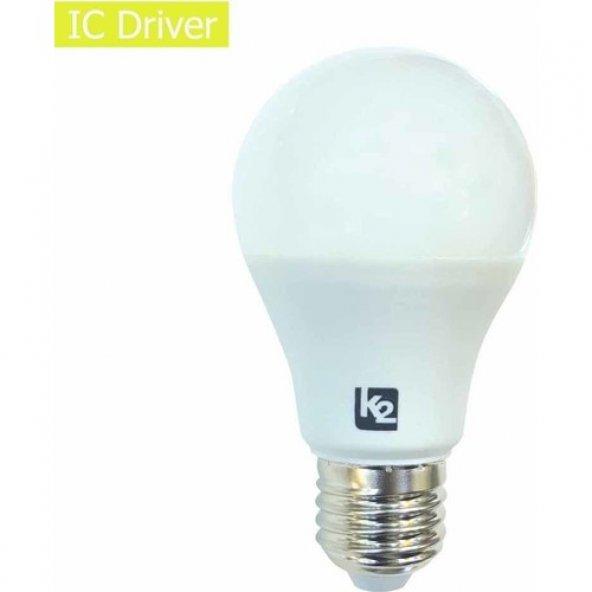 K2 15W E27 Duylu Led Ampul