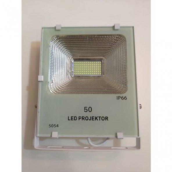Foblight Led Projektör 50 Watt Beyaz Kasa Günışığı Smd Led