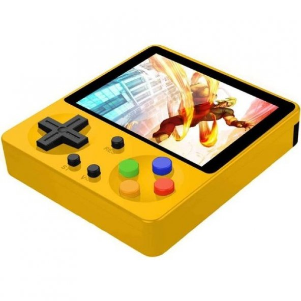 Huongoo Retro El Oyun Konsolu 3 inç HD Arcade 333 Oyun