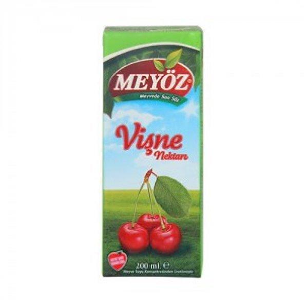 Meyöz 1/5 tetra vişne nektarı 200 ml.x27