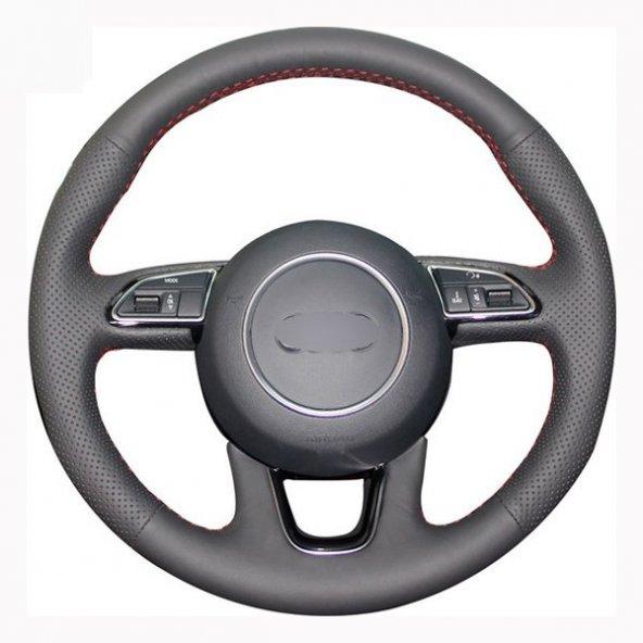 Volkswagen Passat B5 Deri Direksiyon Kılıfı Araca Özel Dikmeli