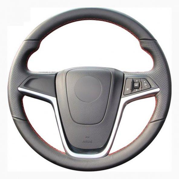 Hyundai I30 2012-16 Deri Direksiyon Kılıfı Araca Özel Dikmeli