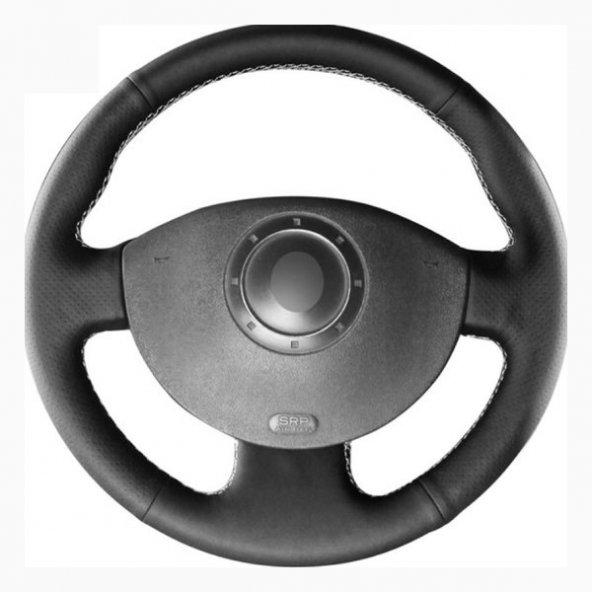 Ford Fiesta 2008-13 Deri Direksiyon Kılıfı Araca Özel Dikmeli