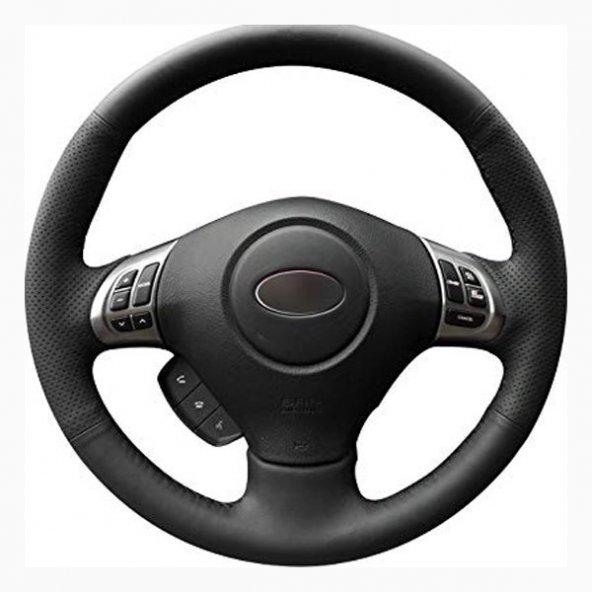 Chevrolet Cruze 2009-14 Deri Direksiyon Kılıfı Araca Özel Dikmeli