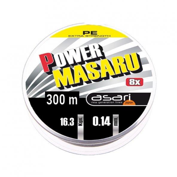 ASARI MASARU POWER 0.35mm 300mt 8x örgü ip