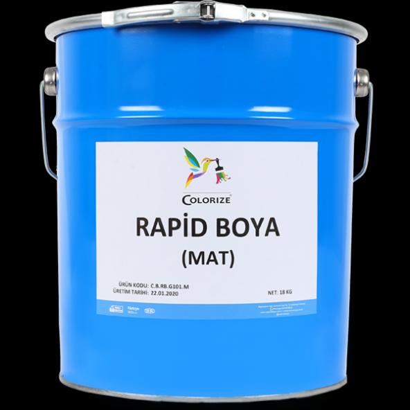Colorize Rapid Boya Mat Siyah 18 KG