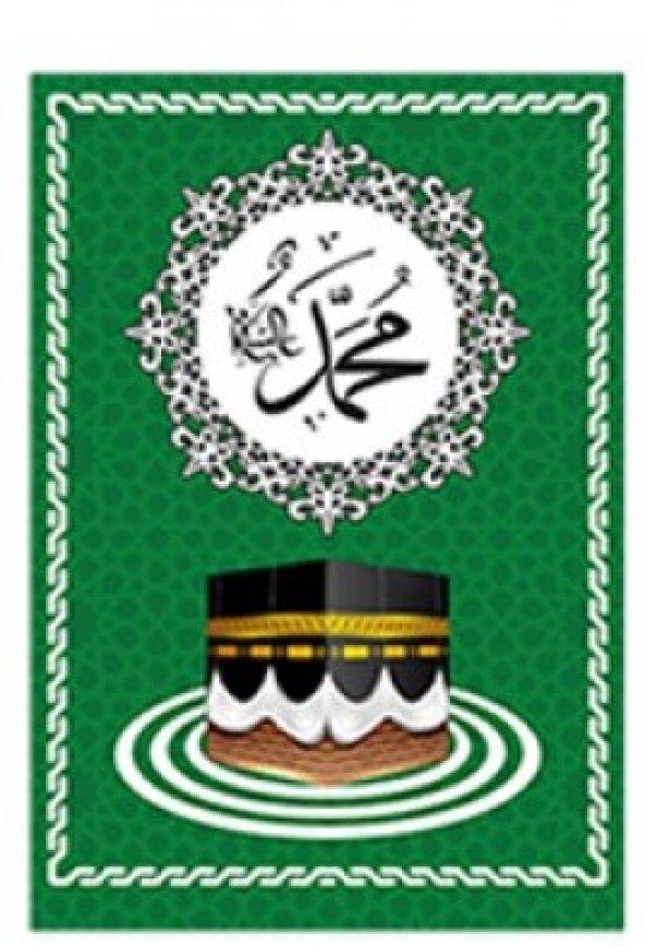 Minber Üst Perdesi Küçük Yeşil Renk