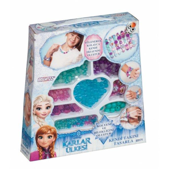 Frozen Kutulu Boncuk Seti