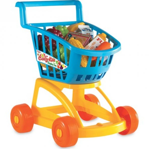 Candy&Ken Market Arabası Dolu