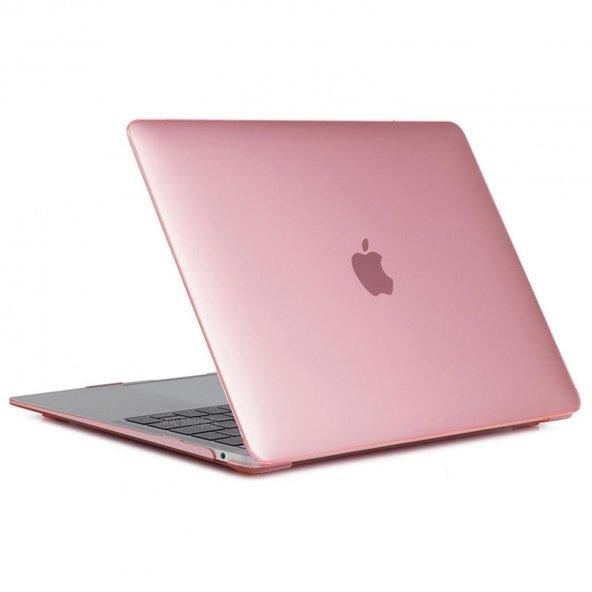 MacBook Kılıf Kristal HardCase Yeni Pro A1706 A1708 A1989 A2159 13 inç Uyumlu Parmak İzi Bırakmaz