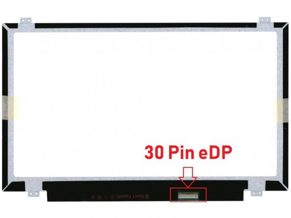 Hp 14-am109nt 14.0 30pin slim led ekran