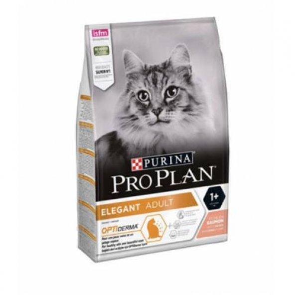 Pro Plan Derma Plus Elegant Somon Balıklı Kedi Maması 3 KG