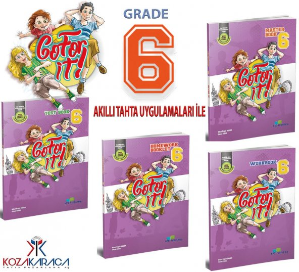 krc publishing Go For It! Grade 6 - İngilizce Seti
