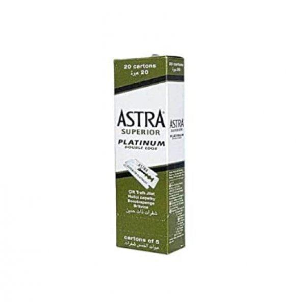 Astra Platinum Çift taraflı jilet