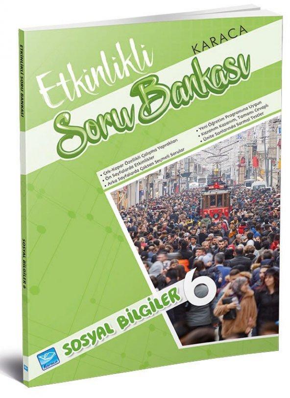Karaca Eğitim Yayınları Etkinlikli Soru Bankası Sosyal Bilgiler 6. Sınıf