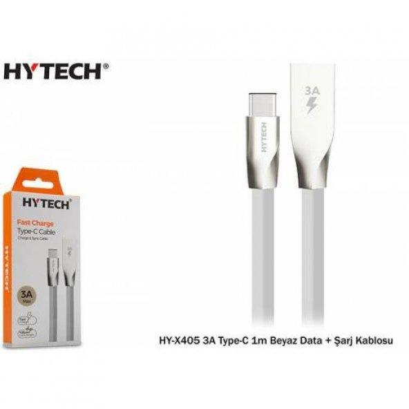 Hytech Type-C Şarj ve Data Kablosu 1metre 3Amper