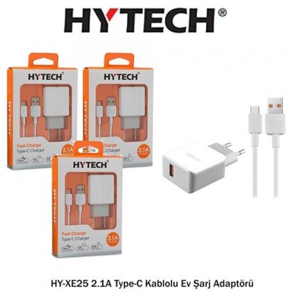 Hytech XE25 Type-C Hızlı Şarj Cihazı