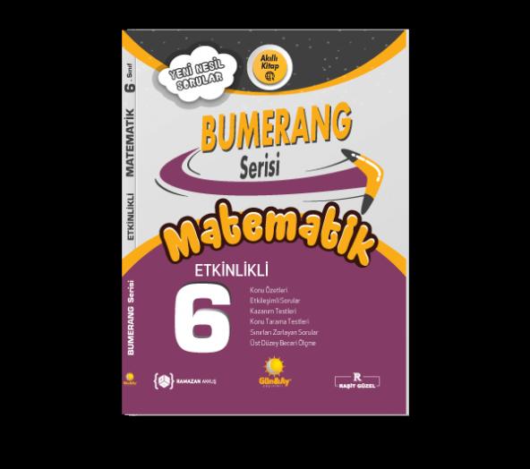 6.Sınıf Bumerang Etkinlikli Matematik