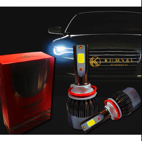 Fiat Linea (Kısa Uyumlu Far) H7 Led Xenon Far 6000K Beyaz Renk