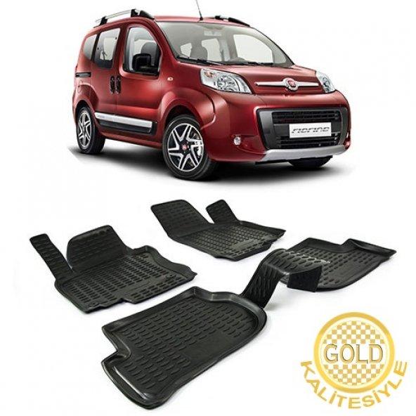 Fiat Fiorino Araca Özel 3D Havuzlu Paspas Gold