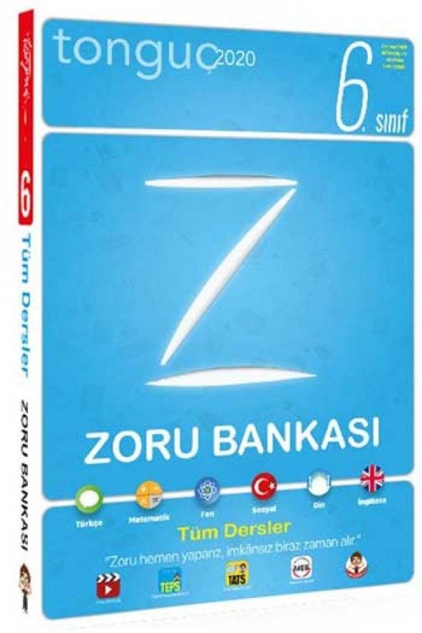 Tonguç Akademi 2020 6. Sınıf Tüm Dersler Zoru Bankası