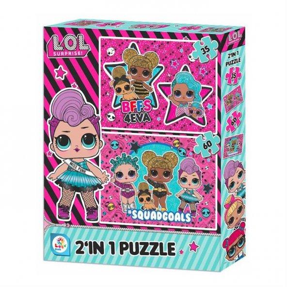Lol 2 in 1 Puzzle LOL7583