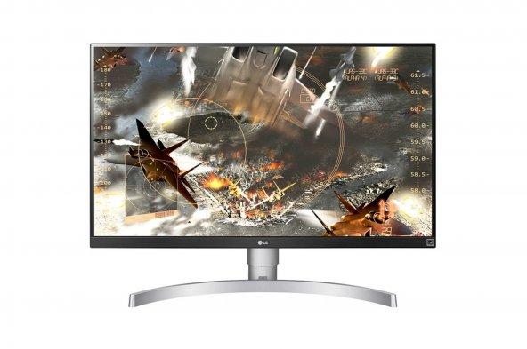 LG 27UK650-W 27 inch  60Hz 5ms (HDMI+Display) FreeSync 4K IPS Monitör