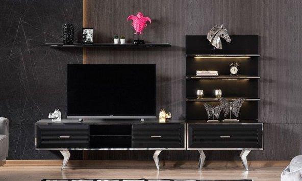 İNEGÖLSOFA DOLCE BLACK TV ÜNİTESİ