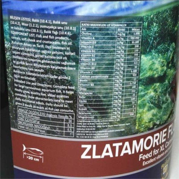 ZLATOMIE RED GREEN Balık Yemi 250 gr(BÖLME)