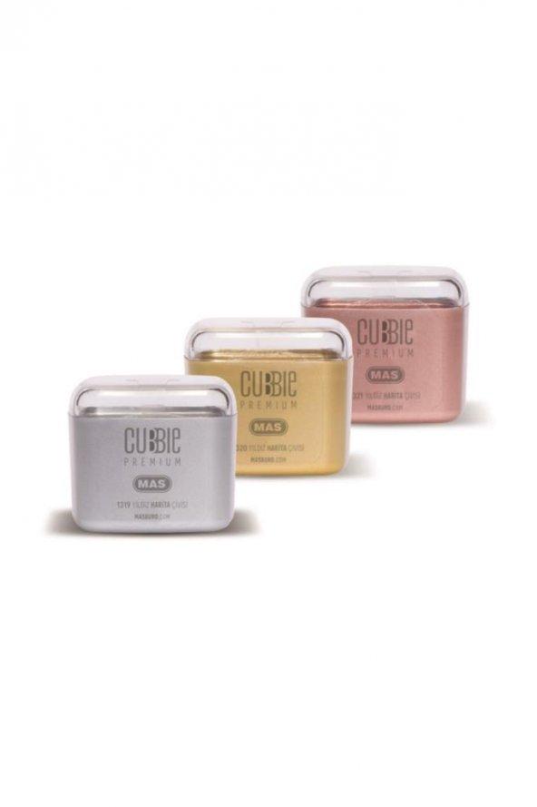 Cubbie Premium Yıldız Harita Çivisi Silver 20 Adet 25.01.146.060