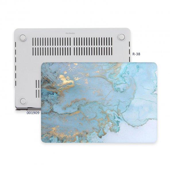 MacBook Air Kılıf Hard Case A1369 A1466 13 inç Uyumlu Özel Tasarım Özel Kutulu Marble 06NL