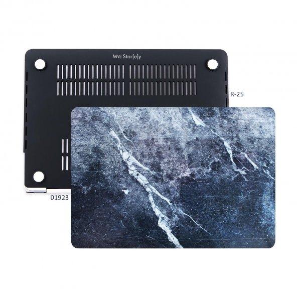 MacBook Air Kılıf Hard Case A1369 A1466 13 inç Uyumlu Özel Tasarım Özel Kutulu Marble 09NL