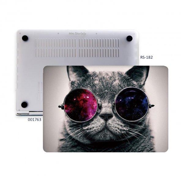 MacBook Pro Kılıf Hard Case A1707 A1990 15 inç Özel Tasarım Kutulu Cat 01NL