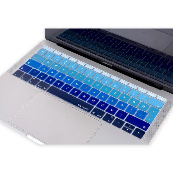 MacBook Klavye Koruyucu A1534 12 inç A1708 13 inç Uyumlu Türkçe Baskılı