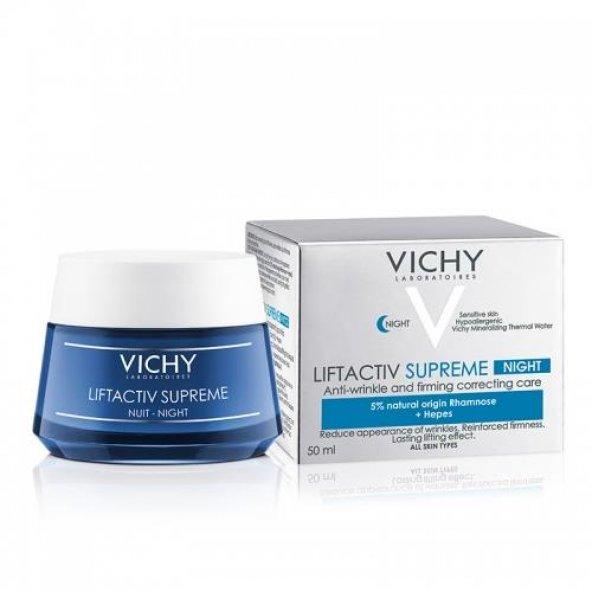 Vichy Liftactiv Supreme Nuit Gece Kremi 50 ml
