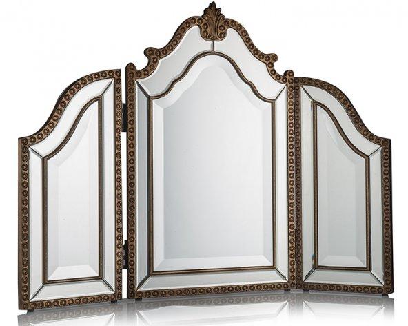 Porio PR75-1002 Altın 3Bölmeli Ayna 65*89