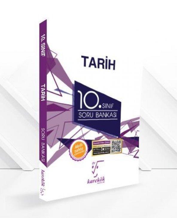 10. Sınıf Tarih Soru Bankası Karekök Yayınları