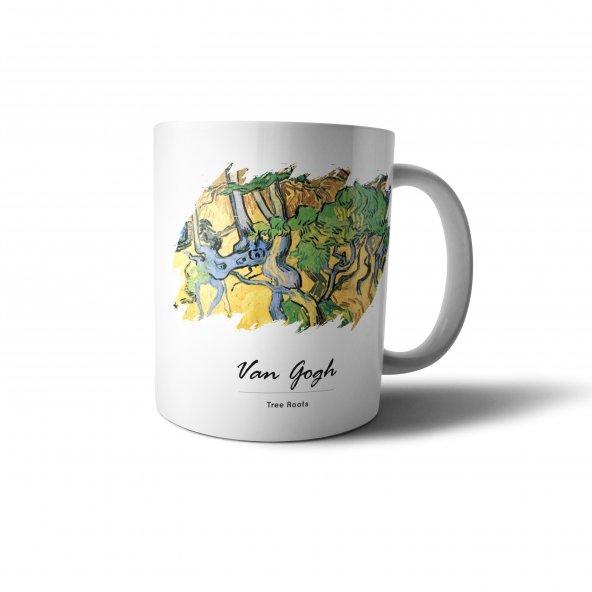 Van Gogh Tree Roots Baskılı Kupa Bardak - UNL020