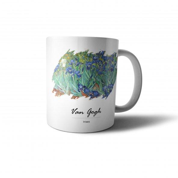 Van Gogh Irises Baskılı Kupa Bardak - UNL034