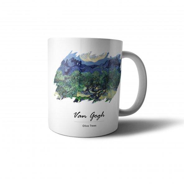 Van Gogh Olive Trees Baskılı Kupa Bardak - UNL042