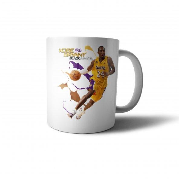 Kobe Bryant Black Mamba Baskılı Kupa Bardak - SPR021