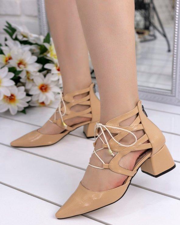 Lilla Ten Rugan Topuklu Ayakkabı