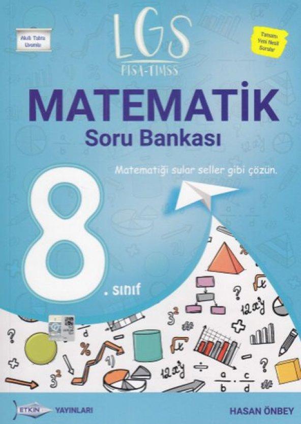 Etkin LGS 8. Sınıf Matematik Soru Bankası Yeni
