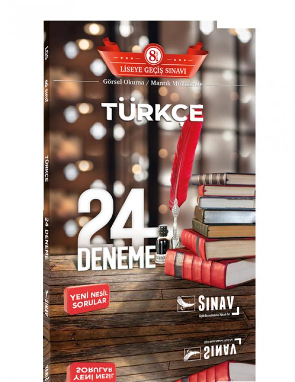Sınav 8. Sınıf LGS Türkçe 24 Deneme